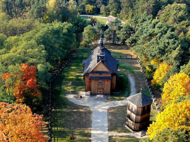 The church in the Museum of the Masovian Countryside in Sierpc, photo by B. Przybyłowski
