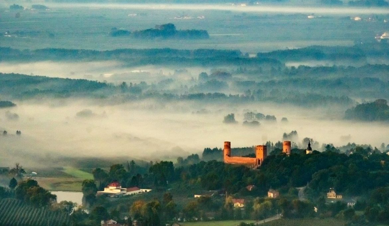 Chojnów Landscape Park, Castle in Czersk, photo. Maciej Margas